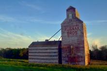 An old grain silo